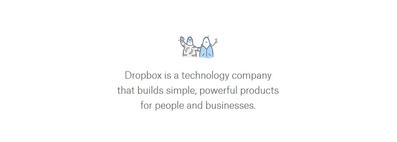 go to https://www.dropbox.com/about