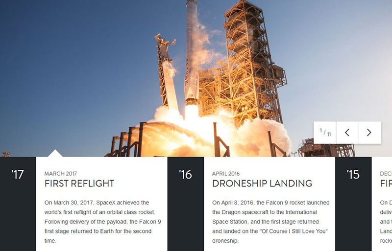 go to http://www.spacex.com/about