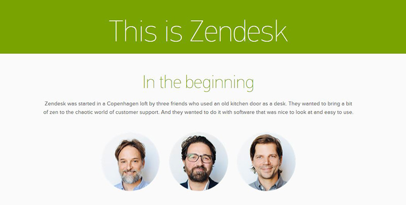 go to https://www.zendesk.com/about/
