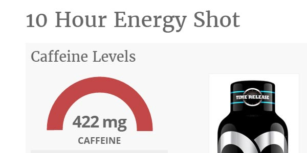 go to http://www.caffeineinformer.com/the-caffeine-database