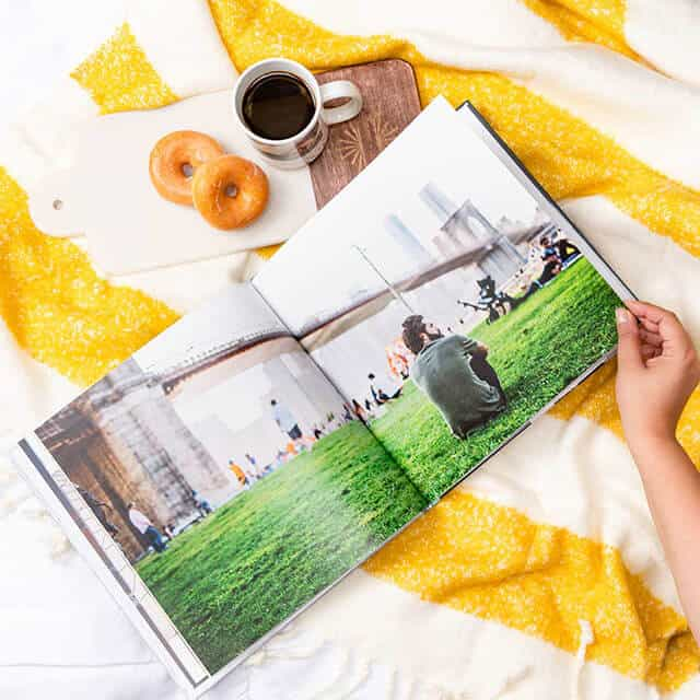 travel souvenir photo book