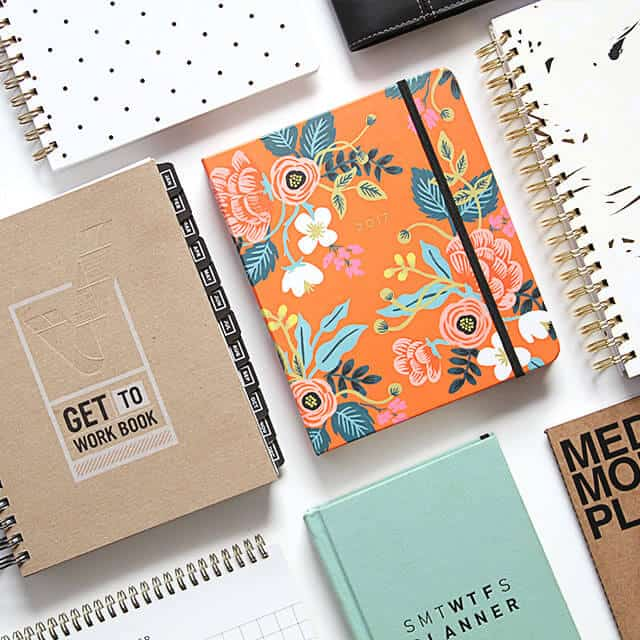 various day planners