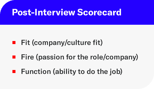 interview scorecard