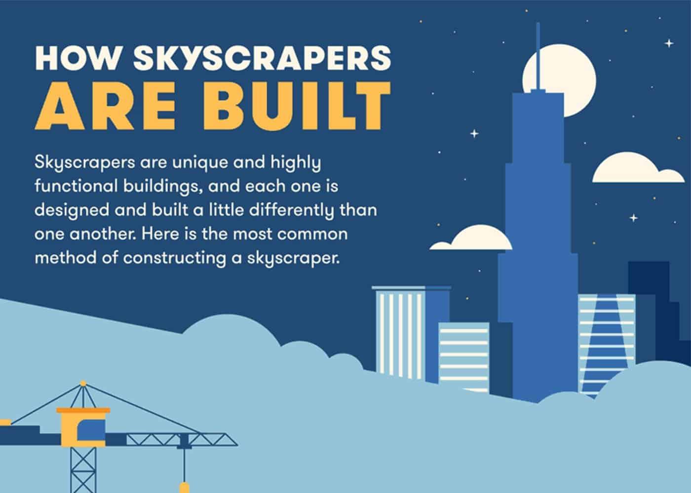 skyscrapers gif
