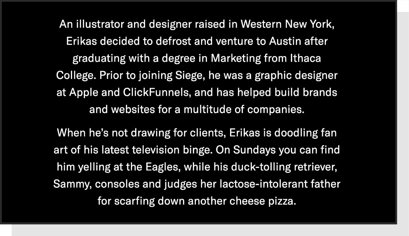 Siege Media bio