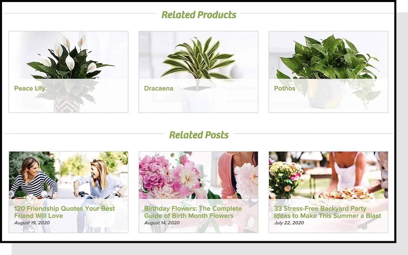 proflowers related products